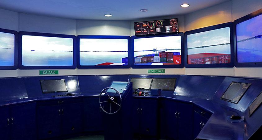 Mission bridge simulator