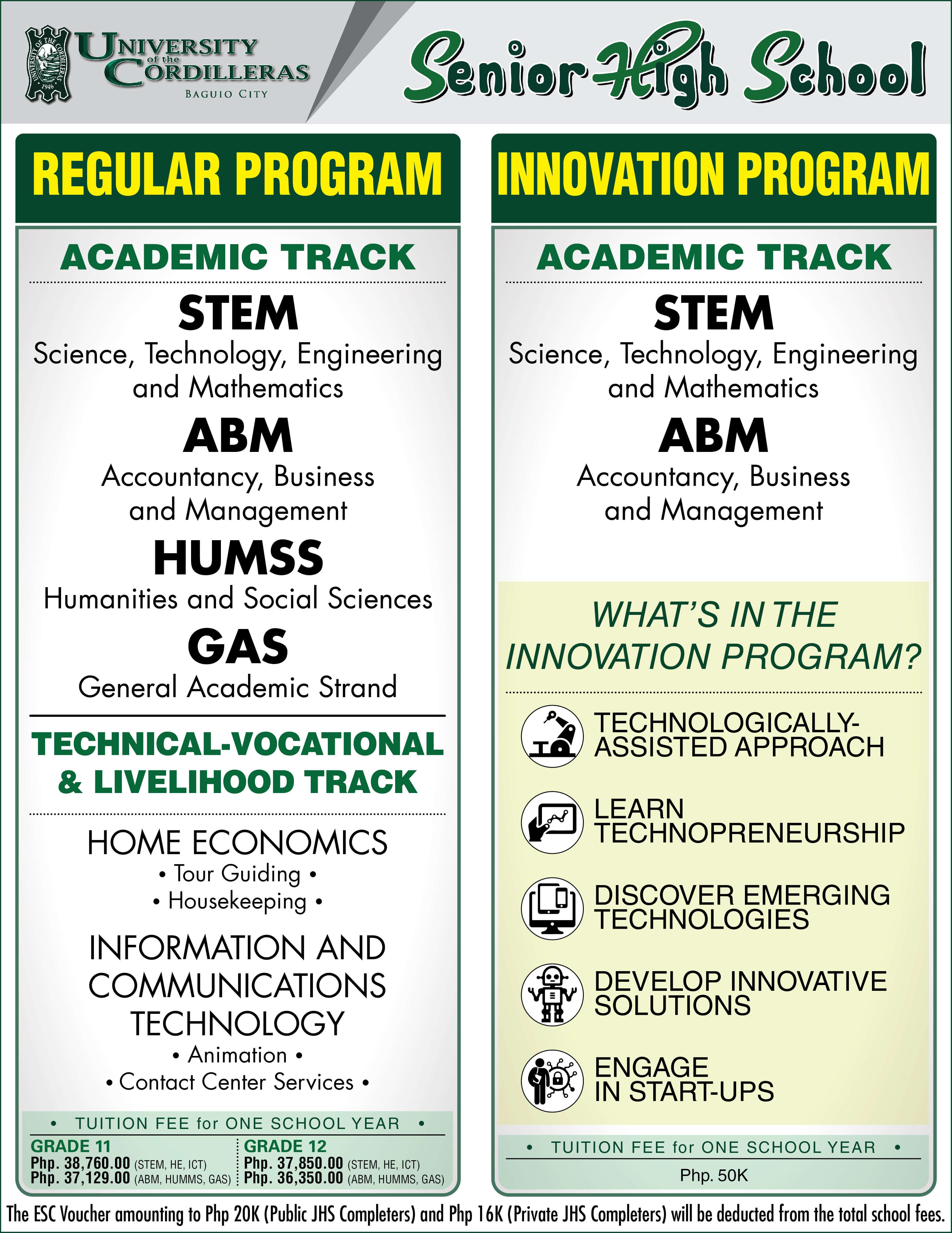 Regular   innovation program 01