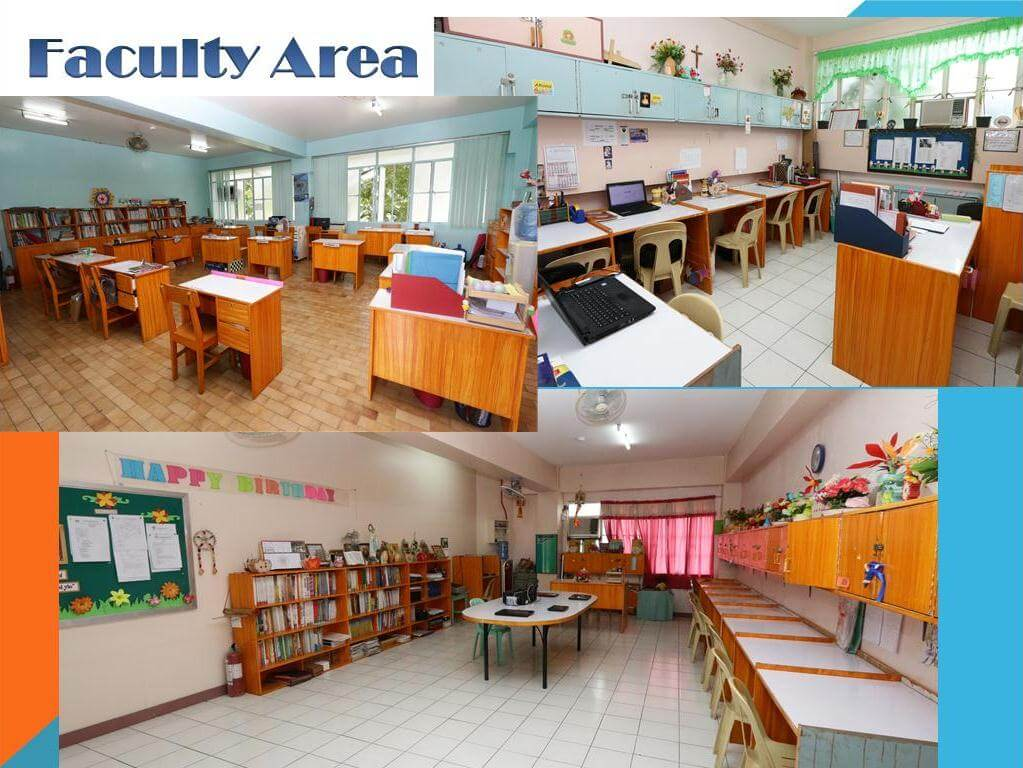 Faculty area