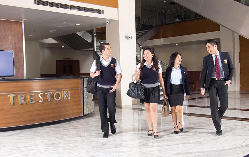 Lobby walk