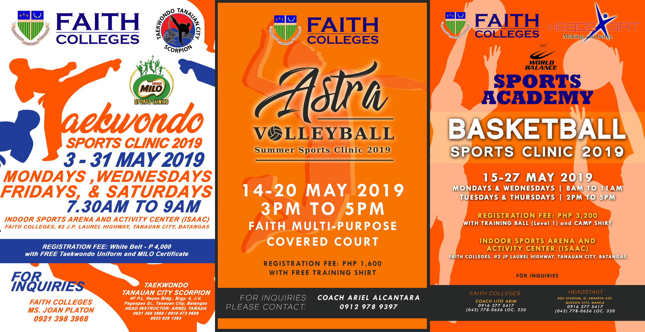 Sports clinic 2019