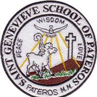Saint Genevieve School of Pateros Logo