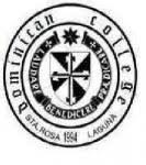 Dominican College of Sta. Rosa Logo