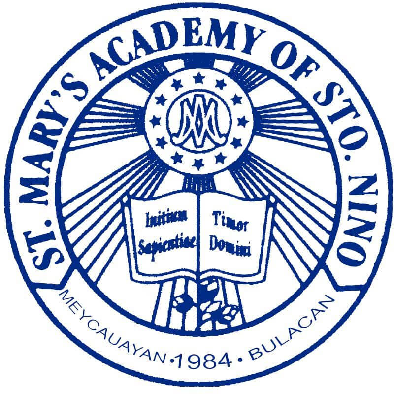 St. Mary's Academy of Sto. Niño Logo