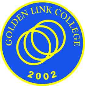 Golden link college logo