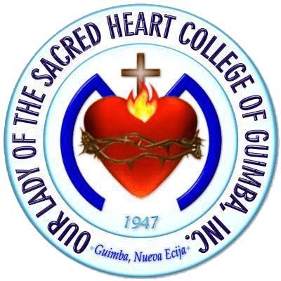 Our lady of the sacred heart college of guimba inc logo