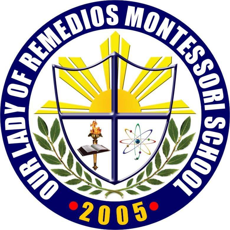 Our Lady of Remedios Montessori School Logo