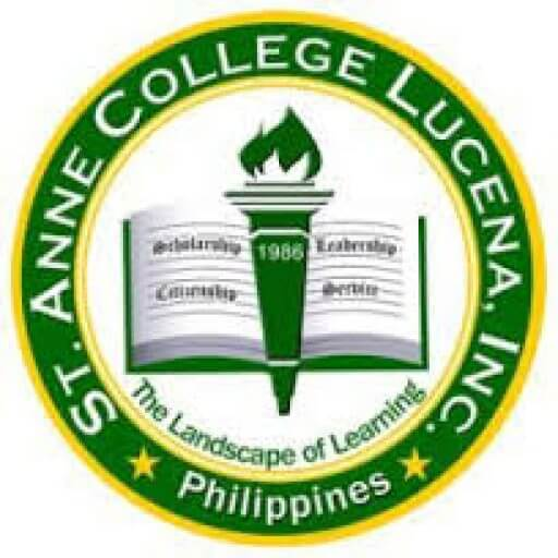 St. Anne College Lucena, Inc. Logo