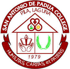 San Antonio de Padua College (SAPC) Foundation of Pila, Laguna, Inc. Logo