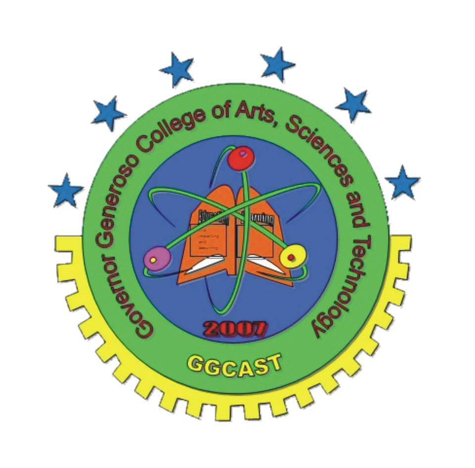 Governor generoso college of arts sciences and technology logo