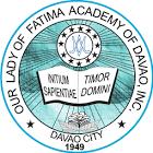 Our Lady of Fatima Academy - Davao Logo