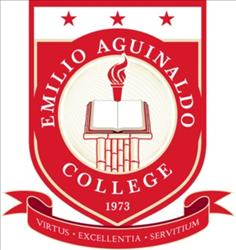 Emilio aguinaldo college in cavite logo