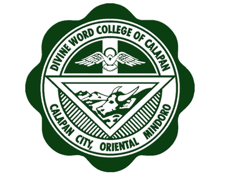 Divine word college of calapan logo