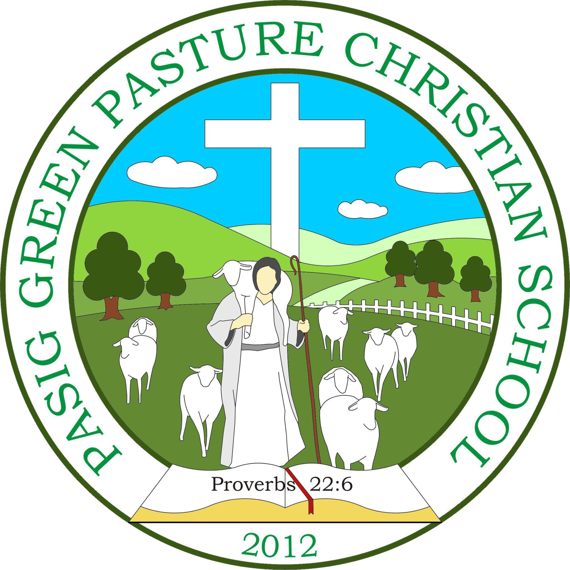Pasig Green Pasture Christian School Logo