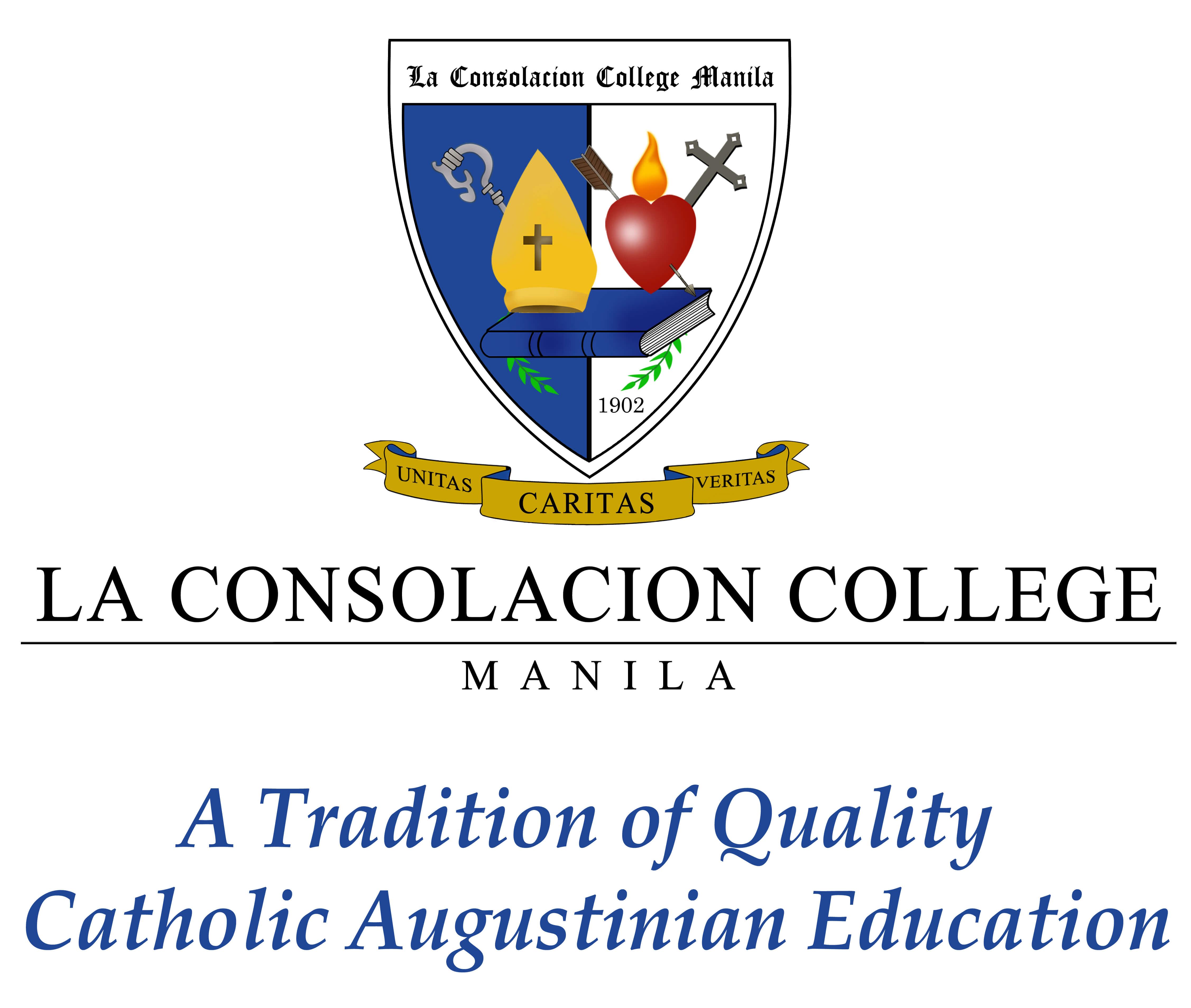 La Consolacion College Manila (LCCM) Logo