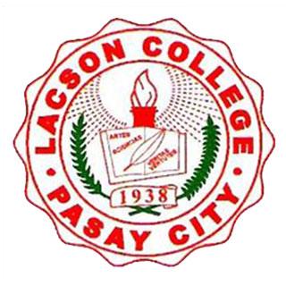G  edukasyon   phase 6 lacson college   pasay city lacson college pasay city logo