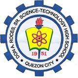 Don A. Roces Sr. Science & Technology High School Logo