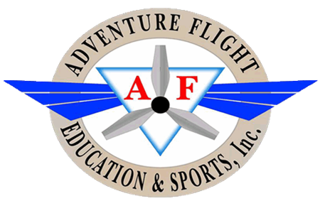 Adventure Flight Education and Sports Inc. Logo