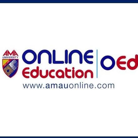 AMA University Online Education Logo