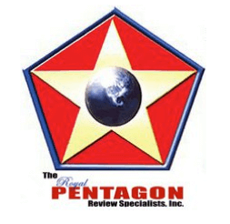 The Royal Pentagon - Review Specialists, Inc. Logo