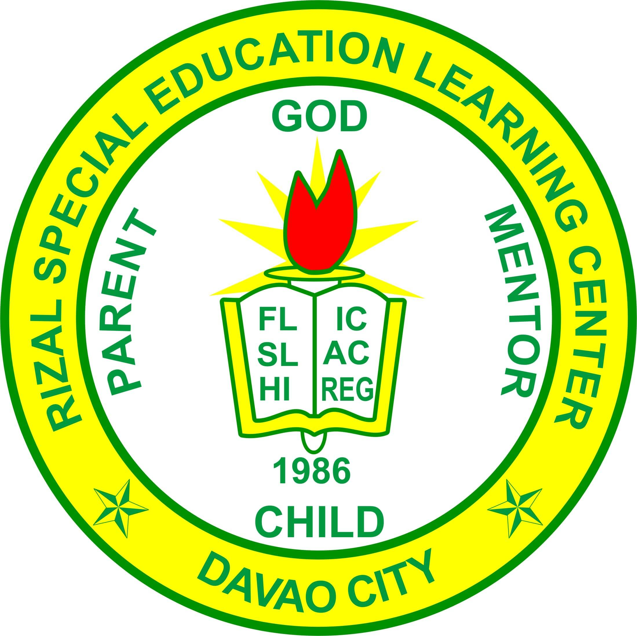 Rizal Special Education Learning Center Logo