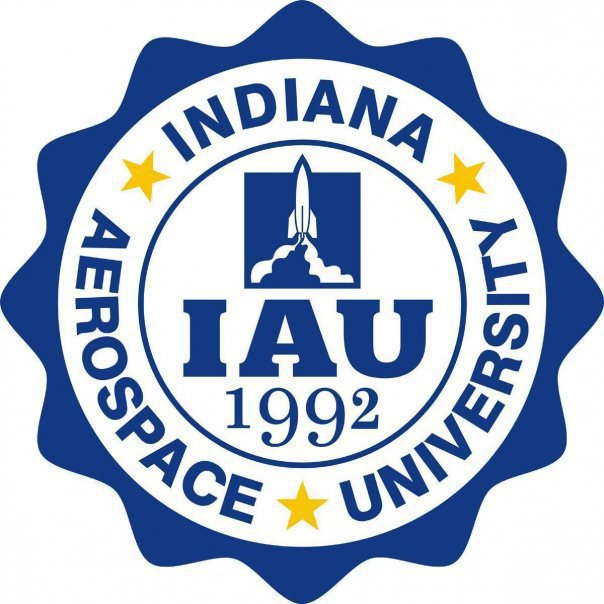 Indiana Aerospace University Logo