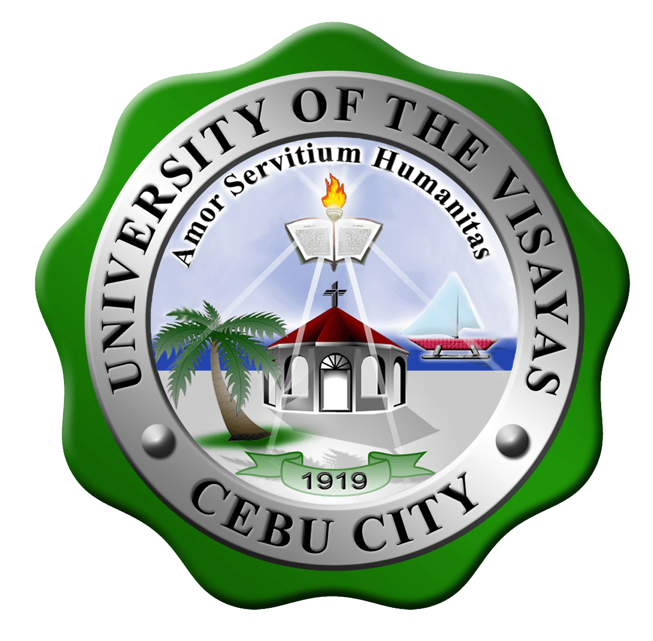 University of the Visayas – Compostela Campus Logo