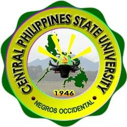 Central philippines state university main campus logo