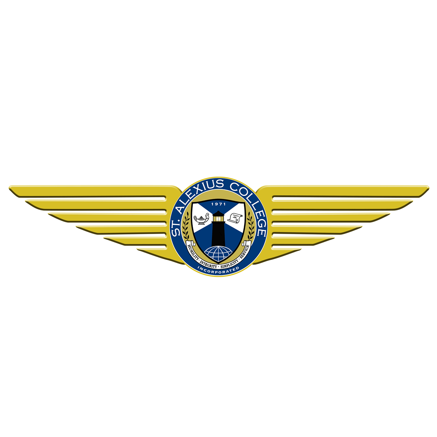 St. Alexius College Flying School Logo
