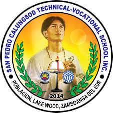 San Pedro Calungsod Technical Vocational School, Inc. Logo
