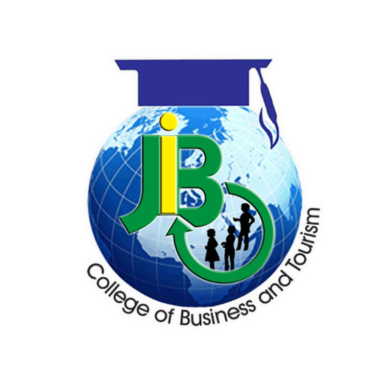 Joji Ilagan College of Business and Tourism Logo