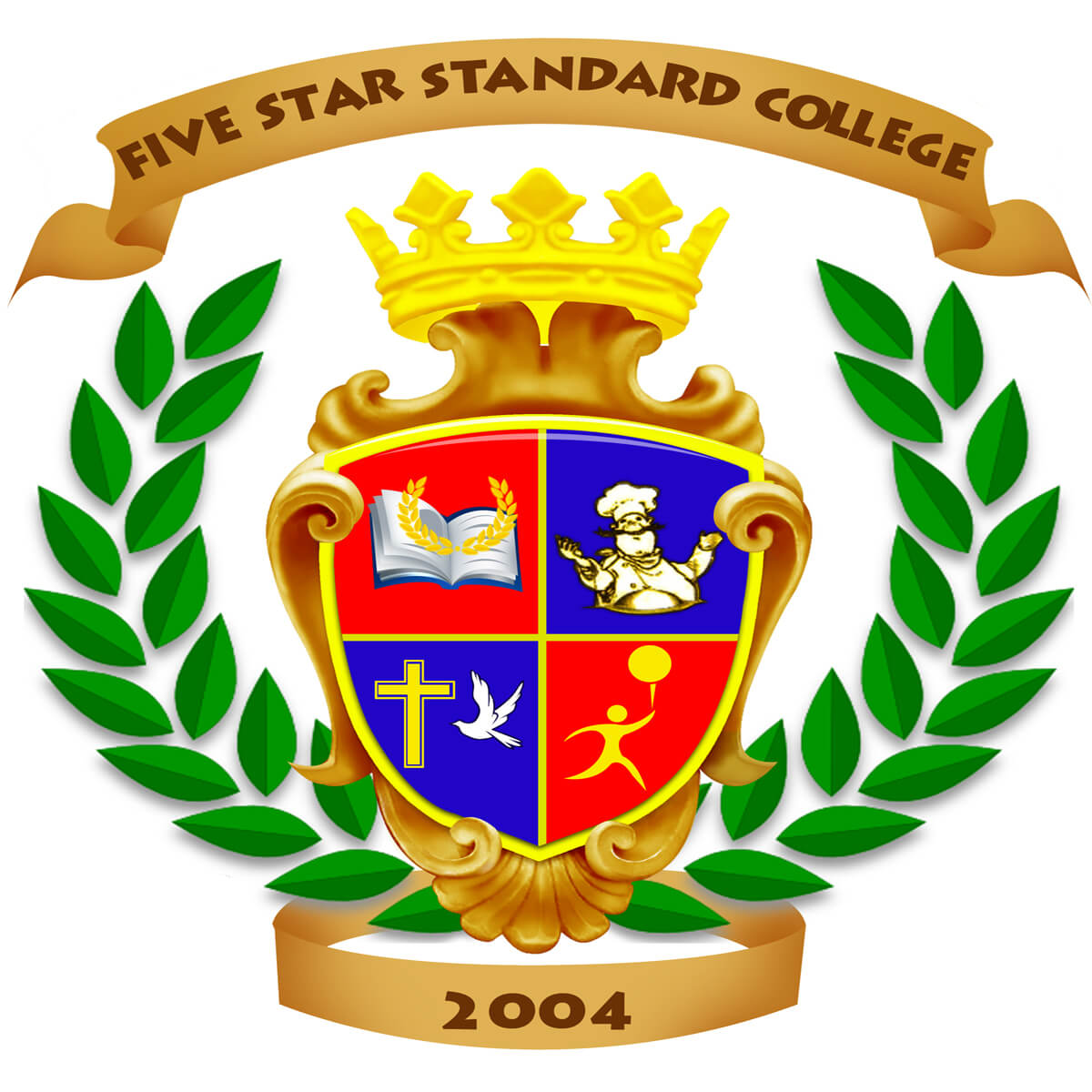 Five Star Standard College Logo