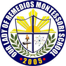 Our Lady of Remedios Montessori Logo