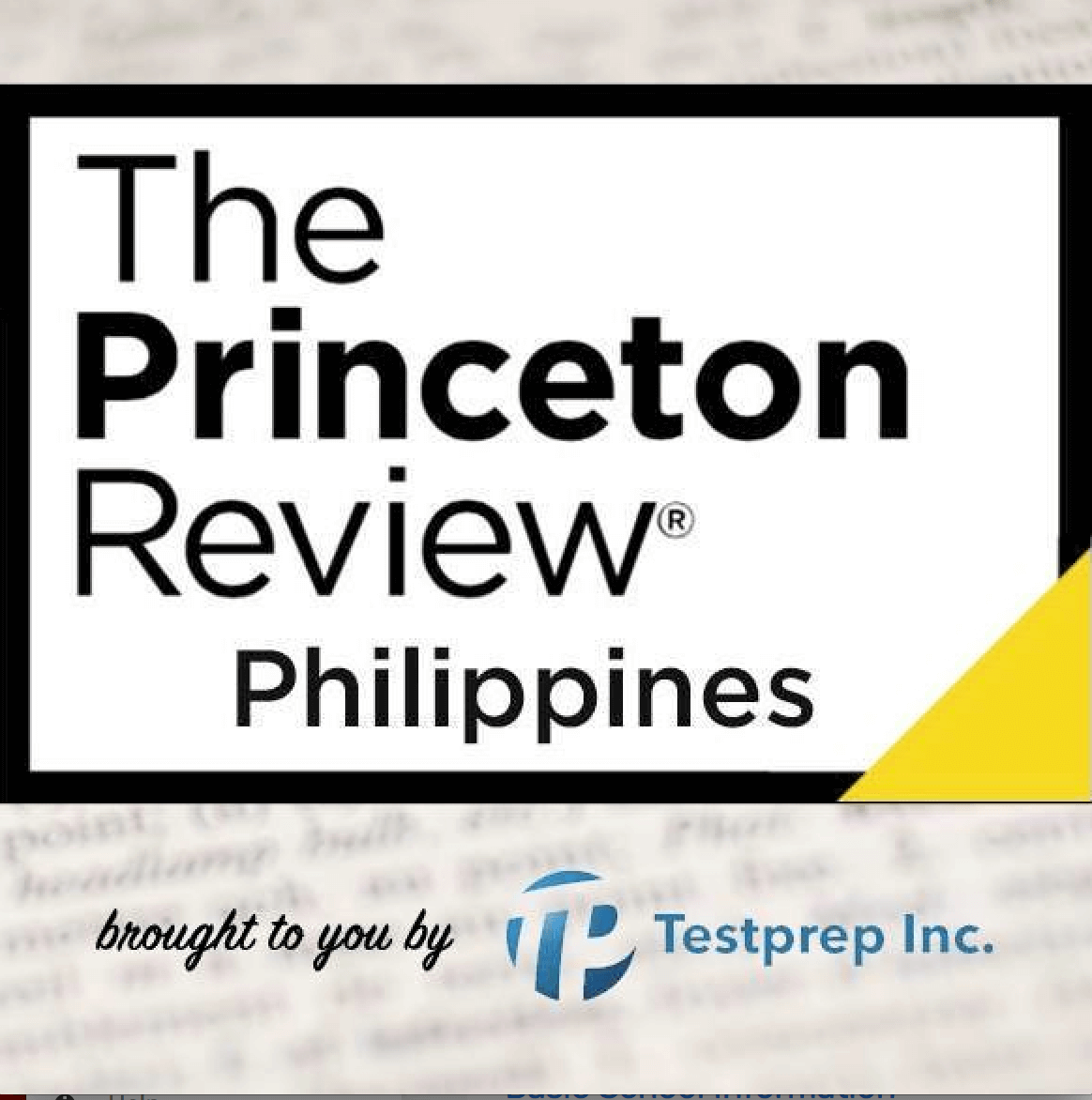The Princeton Review Philippines Logo