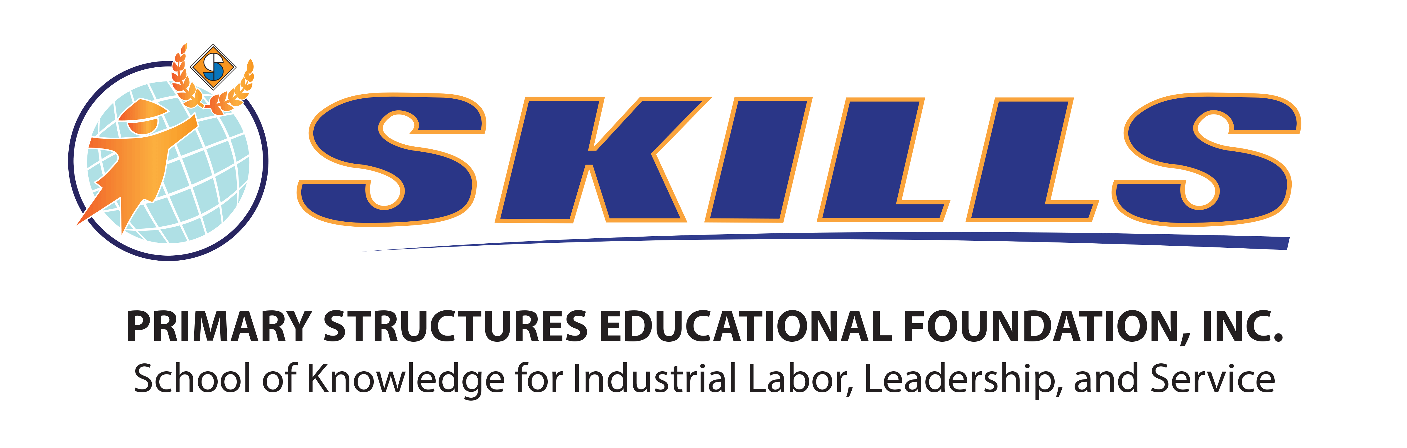 School of Knowledge for Industrial Labor, Leadership, and Service, Incorporated (SKILLS, Inc.) Logo