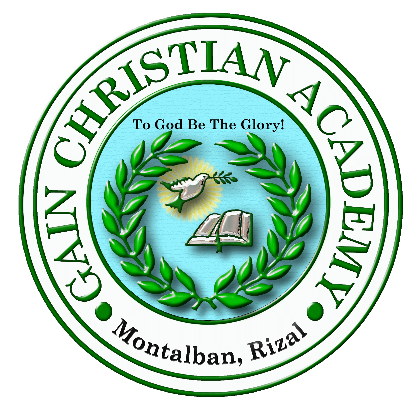 Gain Christian Academy of Montalban Inc. Logo