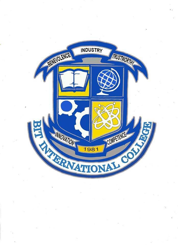 Bit international college siquijor logo