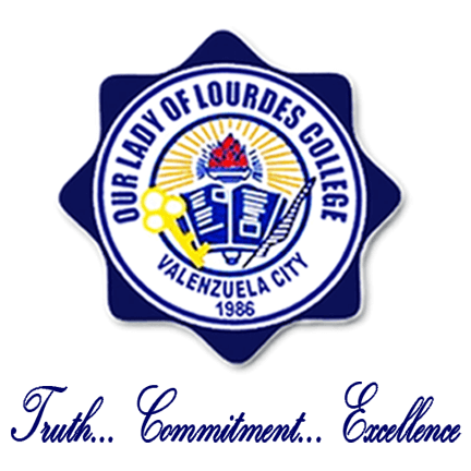 Our lady of lourdes college logo