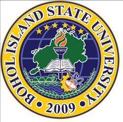 Bohol island state university main campus logo