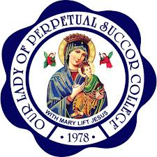 Our lady of perpetual succor college logo