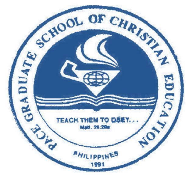Pace graduate school of christian education logo