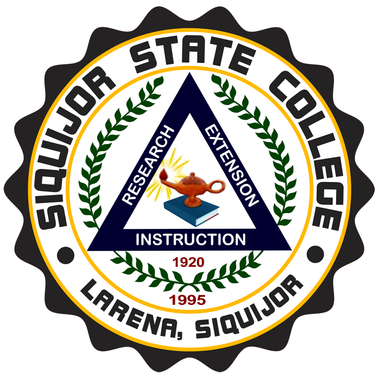 Siquijor State College Logo
