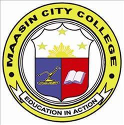 Maasin city college logo