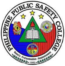 Philippine Public Safety College Logo