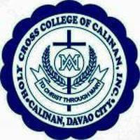 Holy cross college of calinan logo