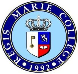 Regis Marie College Logo