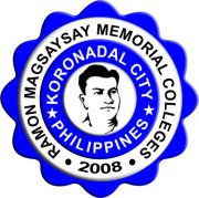 Ramon Magsaysay Memorial Colleges-Marbel,Inc. Logo