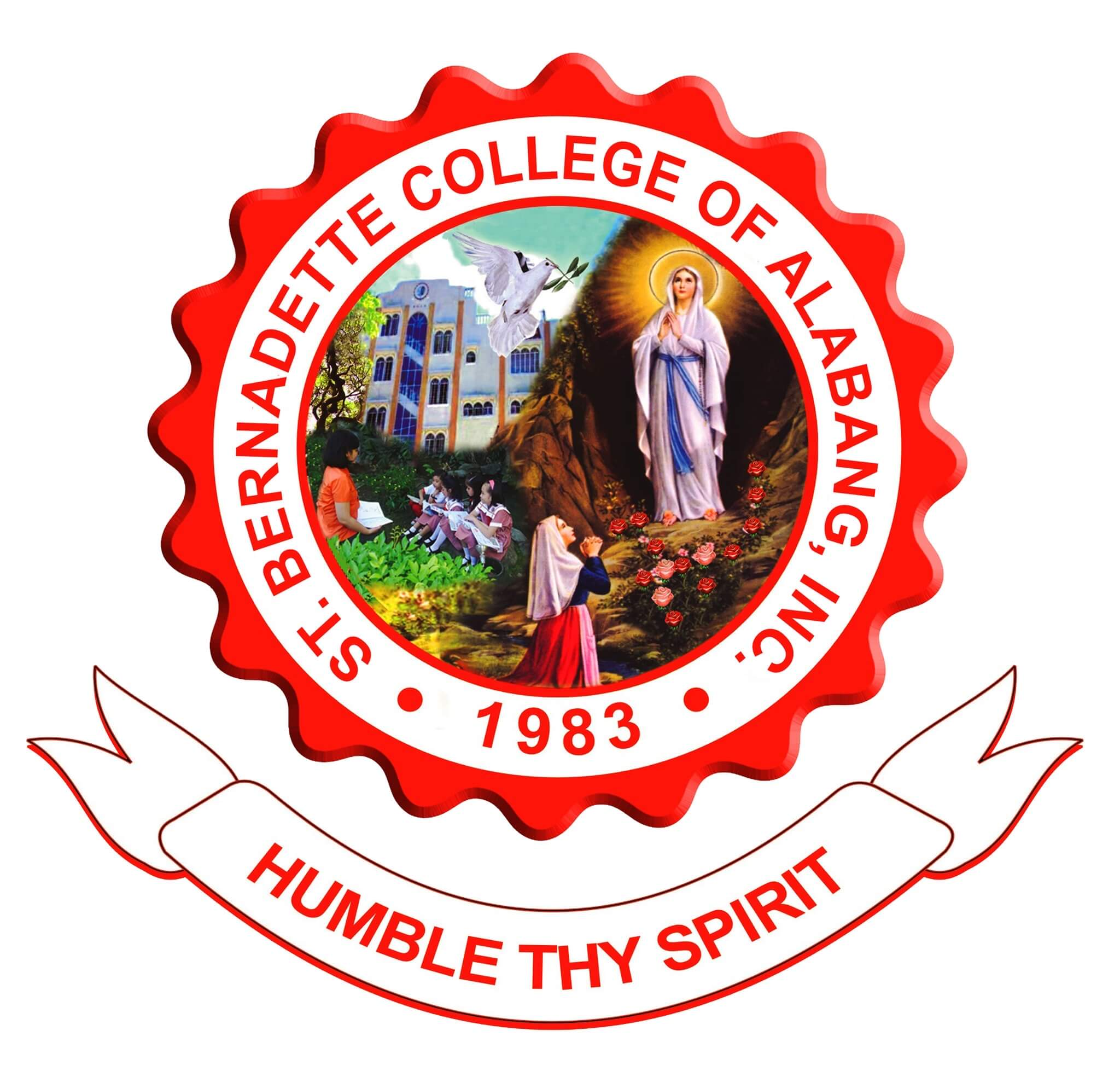 St. Bernadette College of Alabang, Inc. Logo
