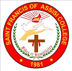 Saint francis of assisi college las pinas city logo