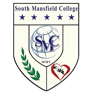 South mansfield college logo